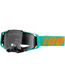100% Armega Goggles Clark W/Clear Lens