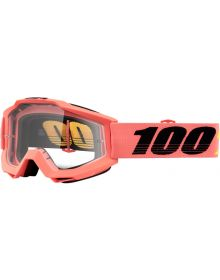 100% Accuri Goggles Rogen W/Clear Lens