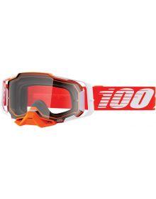 100% Armega Goggles Regal W/Clear Lens