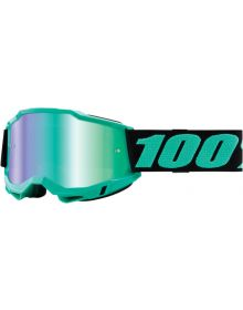 100% Accuri Gen2 Goggles Tokyo W/Green Mirror Lens