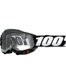 100% Accuri Gen2 Goggles Black W/Clear Lens