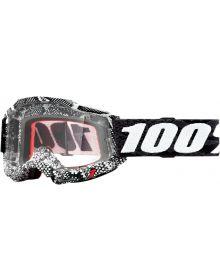 100% Accuri Gen2 Goggles Cobra W/Clear Lens