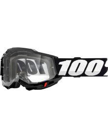 100% Accuri Gen2 OTG Goggles Black W/Clear Lens