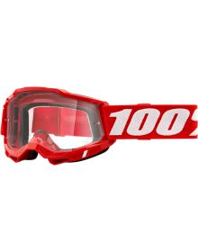 100% Accuri Gen2 OTG Goggles Red W/Clear Lens