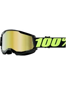 100% Strata Gen2 Goggles Upsol w/Gold Mirror Lens