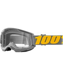 100% Strata Gen2 Goggles Izipizi w/Clear Lens