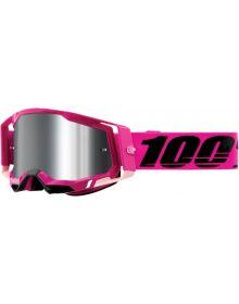 100% Racecraft Gen2 Goggles Maho w/Silver Mirror Lens