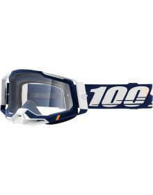 100% Racecraft Gen2 Goggles Concordia w/Clear Lens