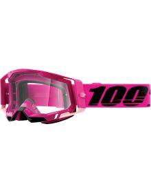 100% Racecraft Gen2 Goggles Maho w/Clear Lens