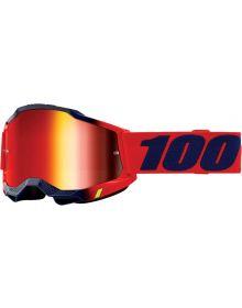 100% Accuri Gen2 Goggles Kearny W/Red Mirror Lens