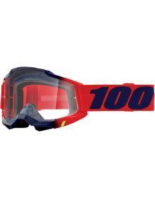 100% Accuri Gen2 Goggles Kearny W/Clear Lens