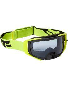 Fox Racing Airspace Mirer Goggle Flo Yellow - Dark Grey Lens