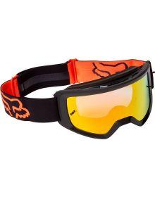 Fox Racing Main Stray Goggle Black/Orange - Spark Lens