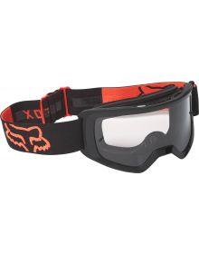 Fox Racing Main Stray Youth Goggle Black/Orange