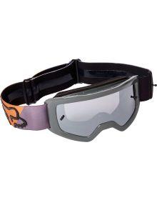 Fox Racing Main Skew Youth Goggle Black/Gold - Spark Lens