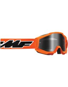FMF Powerbomb Youth Goggle Rocket Orange W/Mirror Lens