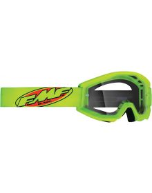 FMF Powercore Youth Goggle Core Yellow W/Clear Lens