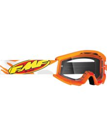 FMF Powercore Youth Goggle Assault Grey W/Clear Lens
