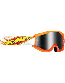 FMF Powercore Youth Goggle Assault Grey W/Mirror Lens