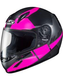 HJC CL-Y Youth Helmet Black/Pink