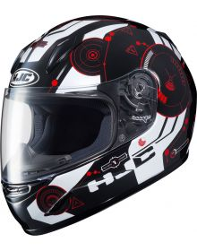 HJC CL-Y Simitic Youth Helmet Red