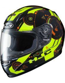 HJC CL-Y Simitic Youth Helmet Green