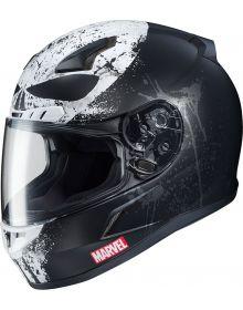 HJC CL-17 Marvel Punisher 2 Helmet Black/White