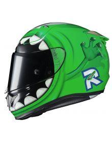 HJC RPHA 11 Pro Pixar Monsters Inc Mike Wakowski Helmet Green