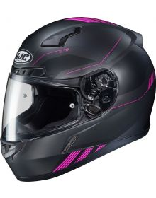 HJC CL-17 Helmet Combat Semi Flat Black/Pink