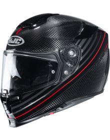 HJC RPHA 70 Carbon Artan Helmet Black/Red