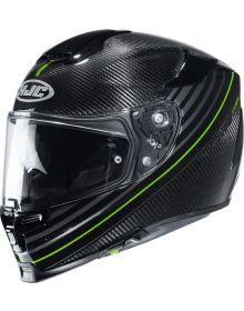 HJC RPHA 70 Carbon Artan Helmet Black/Green