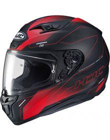 HJC i10 Taze Helmet Black/Red