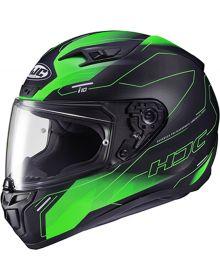 HJC i10 Taze Helmet Black/Green