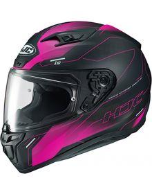 HJC i10 Taze Helmet Black/Pink