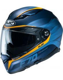 HJC F70 Feron Helmet Blue/Yellow