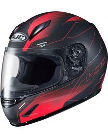 HJC CL-Y Taze Youth Helmet Black/Red