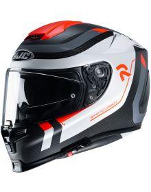 HJC RPHA70 ST Carbon Reple Helmet White/Gray/Red