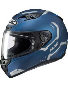 HJC i10 Maze Helmet Blue
