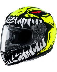 HJC CL-Y Zuky Youth Helmet Hi-Viz