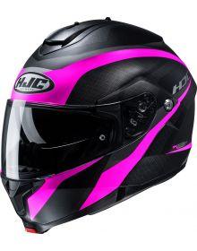 HJC C91 Taly Helmet Black/Purple