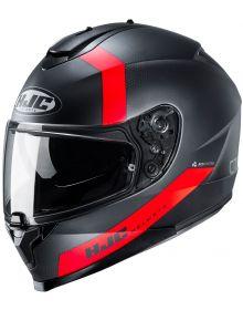 HJC C70 Eura Helmet Black/Red