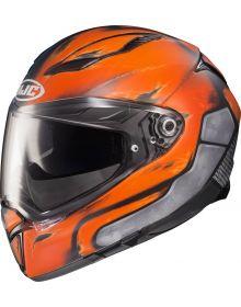 HJC F70 Deathstroke Helmet Blue/Orange-Asymmetrical