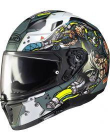 HJC i70 Helmet DC Bane White/Gray