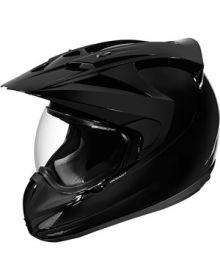 Icon Variant Dual Sport Helmet Black