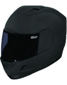 Icon Alliance Helmet Dark Matte Black