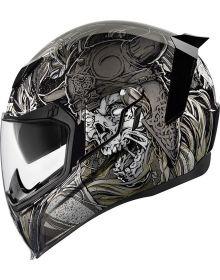 Icon Airflite Helmet Krom Black