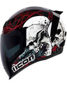 Icon Airflite Helmet Skull 18 Black