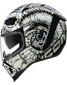 Icon Airform Helmet Sacrosanct White