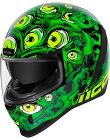 Icon Airform Helmet Illuminatus Green