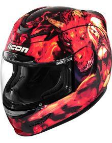 Icon Airmada Helmet Azrael Red